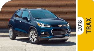 Click on each link to compare the Chevrolet Trax to the competition