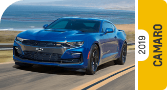 Compare new 2019 Chevrolet Camaro vs Competitive Makes & Models