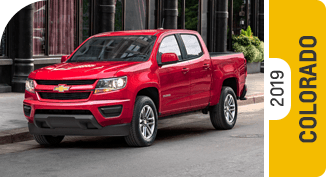 Compare new 2019 Chevrolet Colorado vs Competitive Makes & Models