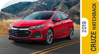 Compare new 2019 Chevrolet Cruze Hatchback vs Competitive Makes & Models