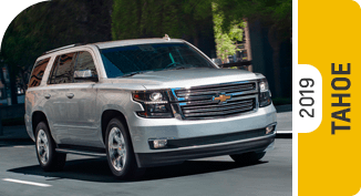 Compare new 2019 Chevrolet Tahoe vs Competitive Makes & Models