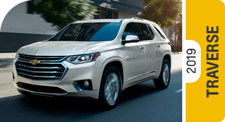Compare new 2019 Chevrolet Traverse vs Competitive Makes & Models
