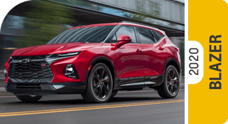2020 Chevrolet Blazer Comparisons