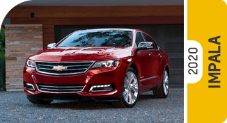 2020 Chevrolet Impala Comparisons