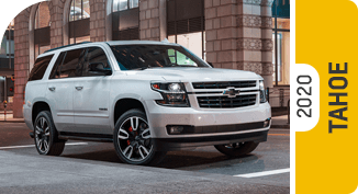 2020 Chevrolet Tahoe Comparisons