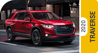 2020 Chevrolet Traverse Comparisons