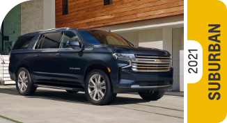 2021 Chevrolet Suburban Comparisons