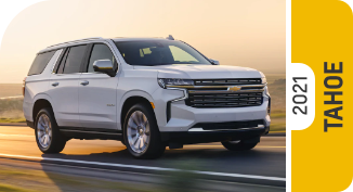 2021 Chevrolet Tahoe Comparisons