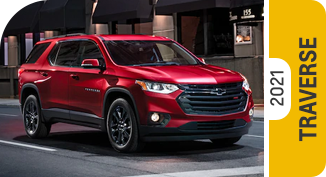 2021 Chevrolet Traverse Comparisons