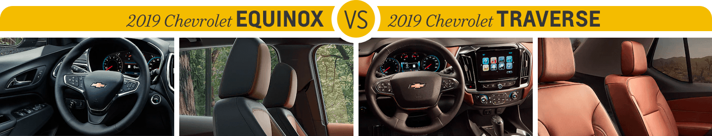 Chevrolet Equinox Vs Chevrolet Traverse Salem 2019 Chevy