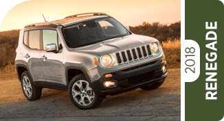 Compare the Jeep Renegade to the Competition at Griegers Motors in Valparaiso, IN