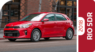 Click to compare each 2018 Kia Rio 5-Door comparison