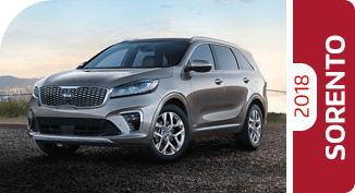 Click Below For More Information About 2019 KIA Sorento Comparisons