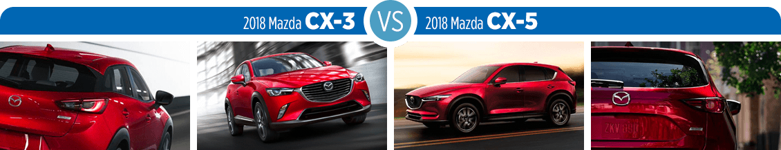 2018 mazda cx-3 or 2018 mazda cx-5 | which crossover is right for me?