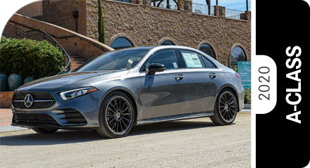 Review Our 2020 Mercedes-Benz A-Class Model Comparisons in Temecula, CA