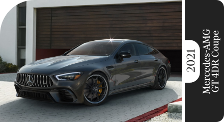Review Our 2021 Mercedes-Benz AMG® GT 4-Door Coupe Model Comparisons in Temecula, CA