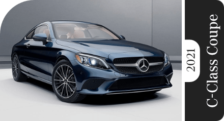 Review Our 2021 Mercedes-Benz C-Class Coupe Model Comparisons in Temecula, CA