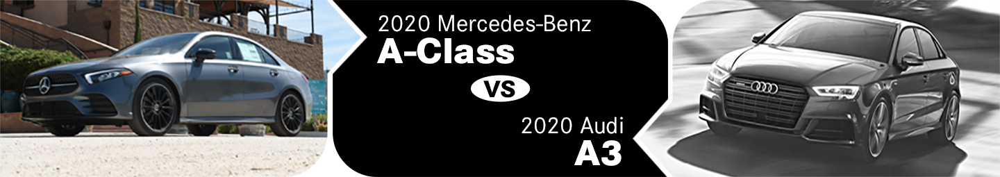 2020 Mercedes-Benz A-Class vs Audi A3 Comparison in Temecula, CA