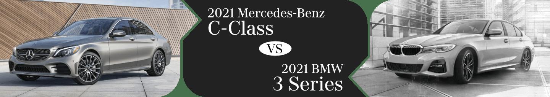 2021 Mercedes-Benz C-Class & BMW 3 Series Comparison