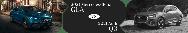 2021 Mercedes-Benz GLA vs Audi Q3 Comparison in Temecula, CA
