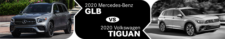 2020 Mercedes-Benz GLB vs 2020 Volkswagen Tiguan Comparison in Temecula, CA