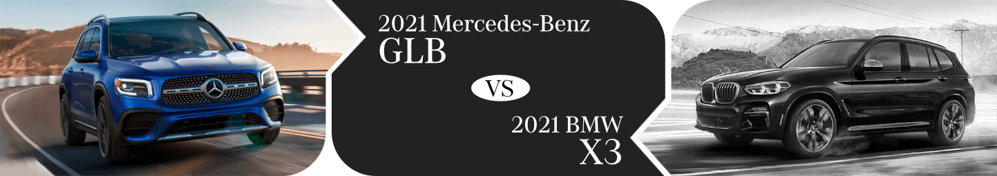 2021 Mercedes-Benz GLV vs BMW X3 Comparison in Temecula, CA