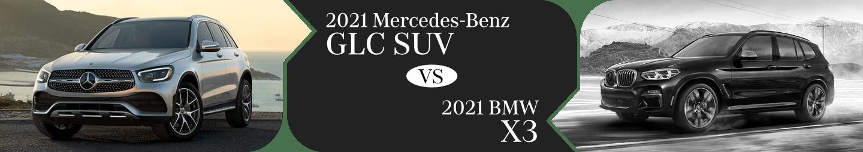 2021 Mercedes-Benz GLC vs BMW X3 Comparison