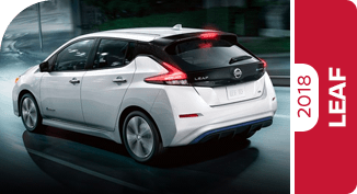 Compare New 2018 Nissan LEAF vs Competitive Makes & Models