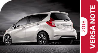 Compare New 2018 Nissan Versa Note vs Competitive Makes & Models
