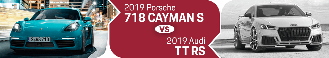 Best Performance Coupe for 2019: Porsche 718 Cayman S or