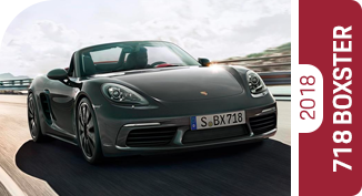 Compare the new 2018 Porsche 718 Boxster with worthy competitors.