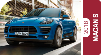 Compare the new 2018 Porsche Macan S with worthy competitors.