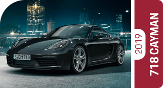 Click on each comparison of the 2019 Porsche 718 Cayman to learn more at Porsche Chandler in Chandler, AZ