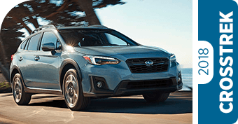 Click to the right to research Hanson Subaru's Crosstrek comparisons