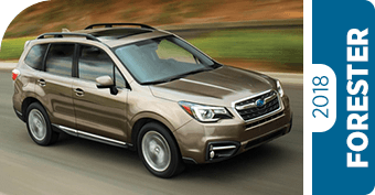 Compare New 2018 Forester vs Competitive Makes & Models