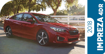 Compare New 2018 Subaru Impreza 4dr vs Competitve Makes and Models