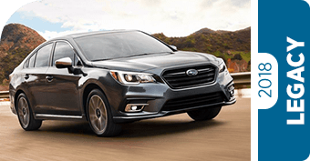 Compare New 2018 Subaru Legacy vs Competitve Makes and Models