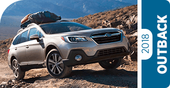 Compare New 2018 Outback vs Competitive Makes & Models
