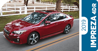 Compare the new 2019 Subaru Impreza 4dr Model to the Competition in San Bernardino, CA