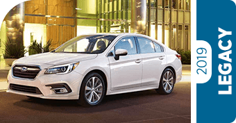 Compare the 2019 Subaru Legacy Model to the Competition in Seattle, WA