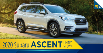 Compare the new 2020 Subaru Ascent vs other makes and models