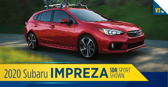 Compare the new 2020 Subaru Impreza 5dr vs other makes and models