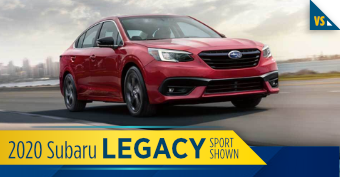 2020 Subaru Legacy Comparisons