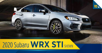 Compare the new 2020 Subaru WRX STI vs other makes and models