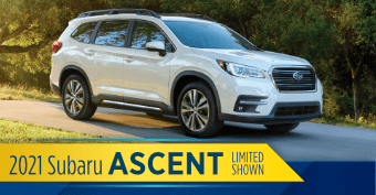 2021 Subaru Ascent Model Comparisons at Nate Wade Subaru