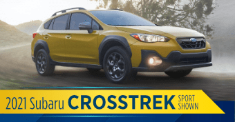 Compare the new 2021 Subaru Crosstrek vs other makes and models