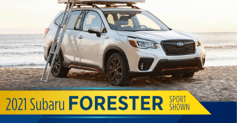 2021 Subaru Forester Model Comparisons at Nate Wade Subaru