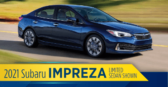 2021 Subaru Impreza 4dr Model Comparisons at Nate Wade Subaru
