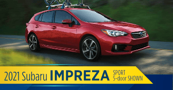 2021 Subaru Impreza 5dr Model Comparisons at Nate Wade Subaru