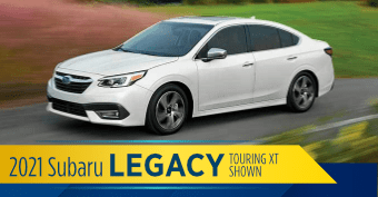 2021 Subaru Legacy Model Comparisons at Nate Wade Subaru